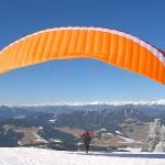 Paragliding auf der Grebenzen