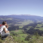 Blick über die Seetaler Alpen